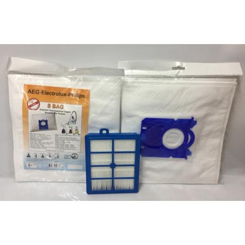Netavantaj Philips HEPA Filtre + 10 Adet S Bag Toz Torbası