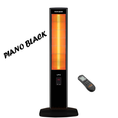 Ufo Micatronic Tower Uk23 Isıtıcı | Piano Black