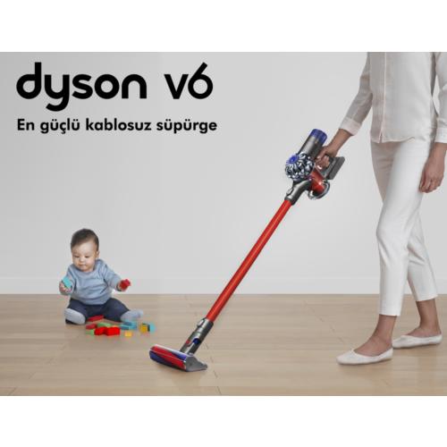dyson v6 total clean dikey arjl s p rge fiyat. Black Bedroom Furniture Sets. Home Design Ideas