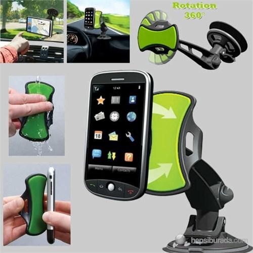 Dörtgen Gripgo Yapışkanlı Telefon Ve Navigasyon Tutucu