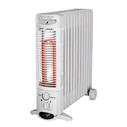 Fakir RH-12 Halojen 2800 Watt 12 Dilim Yağlı Radyatör