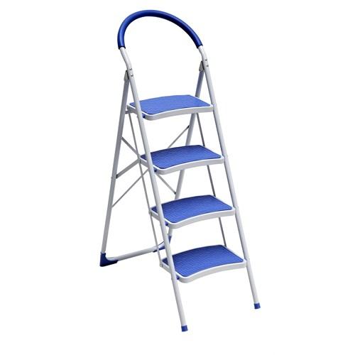 Saraylı 4'Lu Lüks Plastik Kaplı Merdiven