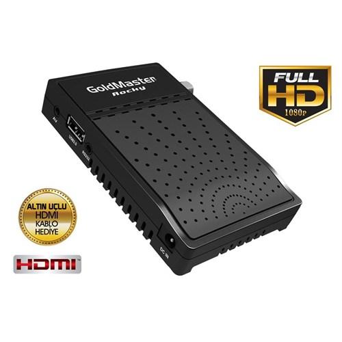 GoldMaster Rocky Micro HD Uydu Alıcısı