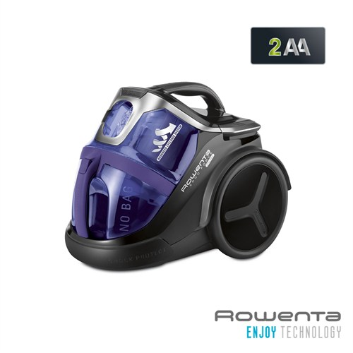 Rowenta RO6789 Ergo Force Cyclonic 700W Animal Care Mor Elektrikli Süpürge