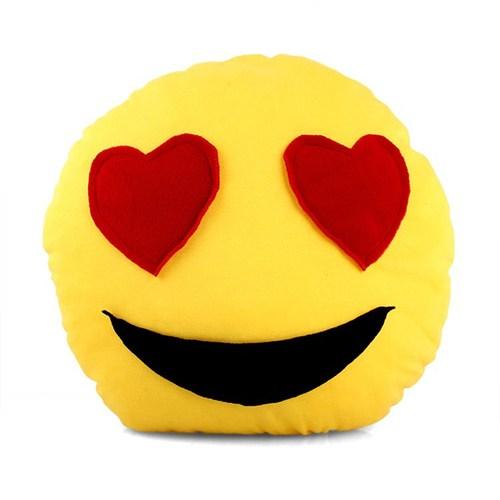 Uygun Emoji Gülenyüz Yastık