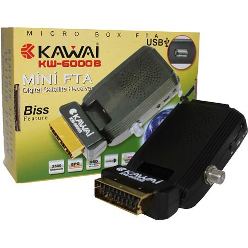 Kawai KW-6000B Mini USB'li Uydu Alıcısı