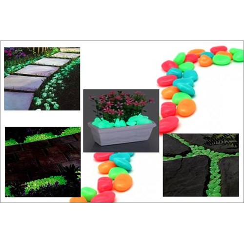 Biyax 5 Renk Dekoratif Işık Yansıtan Taşlar