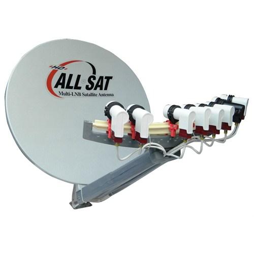 Allsat Multi-Lnb Fiber Çanak Anten 90Cm