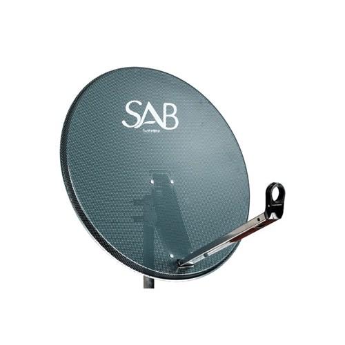 Sab 65Cm Ofset Delikli Çanak Anten Antrasit