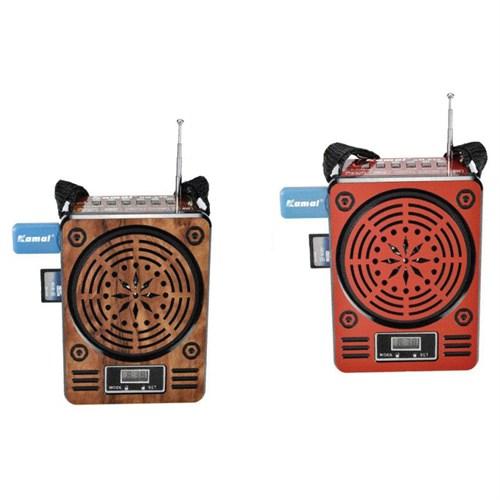 Kamal Km-930 Usb+Sd Şarjlı Mp3 Çalar Radyo