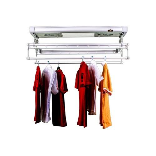 L-Best Hava Kurutmalı Kıyafet Çamaşır Kurutmalık Gümüş 2 M