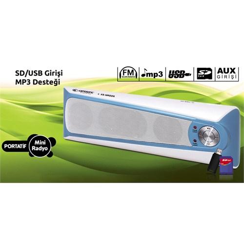 Kamosonic KS-MR226 Mini Radyo