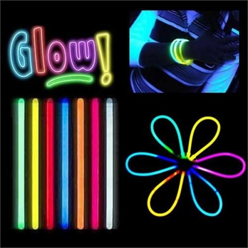 LoveQ Glow Stick Fosforlu Kırılan Çubuk (100 Adet)