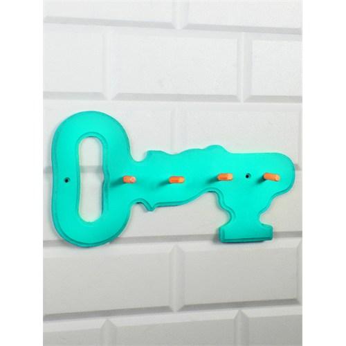 LoveQ Anahtar Şeklinde Anahtar Askısı Su Yeşili