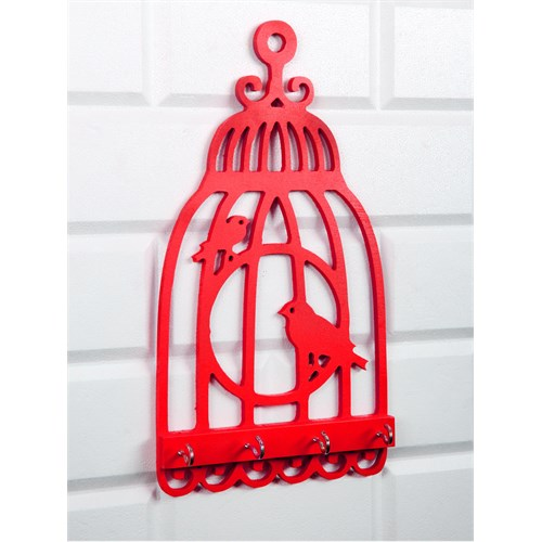 LoveQ Kuş Kafesi Anahtar Askısı