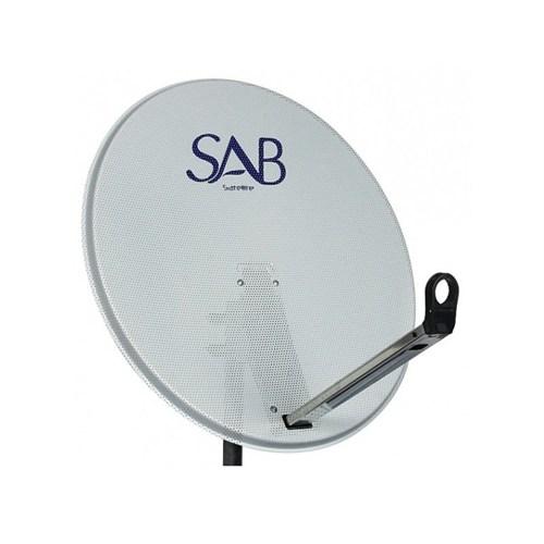Sab Delikli Çanak Anten Beyaz 80Cm