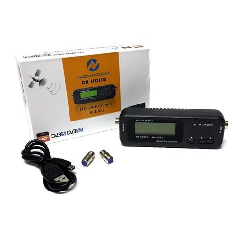 Novacom Sathero Dr-Hd100 Hd Uydu Sinyal Bulucu