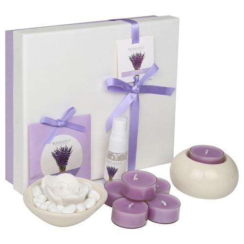 Hepsi Dahice Aroma Diffuser Set 6'Lı Tealight Lavender