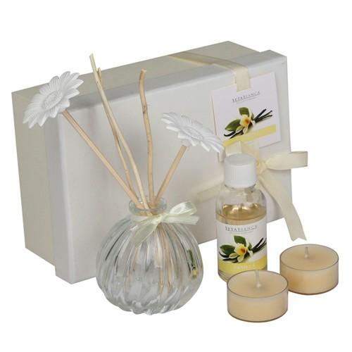 Setabianca Aroma Diffuser Set Tealight 2'Li Tütsü Vanilla