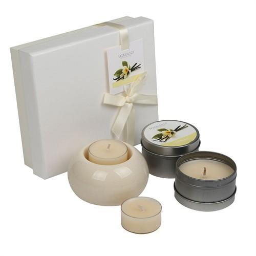 Setabianca Aroma Diffuser Set Metal Mum Tealight Vanilla