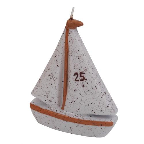 Setabianca Fun Candle Yelkenli Büyük H11.5Cm