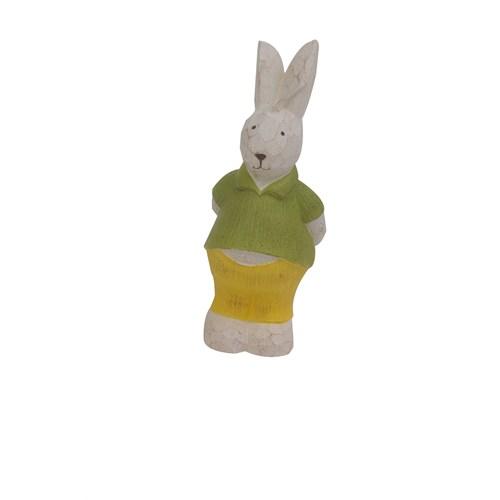 Hepsi Dahice Fun Candle Tavşan Yeşil Büyük H13cm