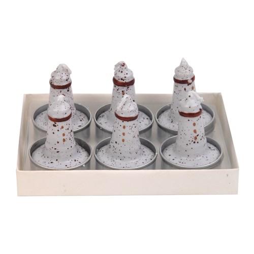 Hepsi Dahice Fun Candle Tealight Deniz Feneri 6'Lı