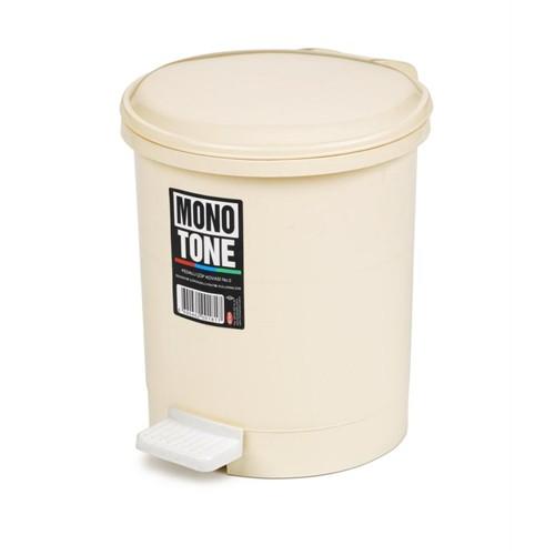 Bora Monotone Pedallı Çöp Kovası 3 Litre No:0 - Bo 181