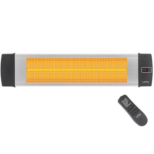 Ufo Black Line UK 2600 Watt Infrared Isıtıcı (Silver)