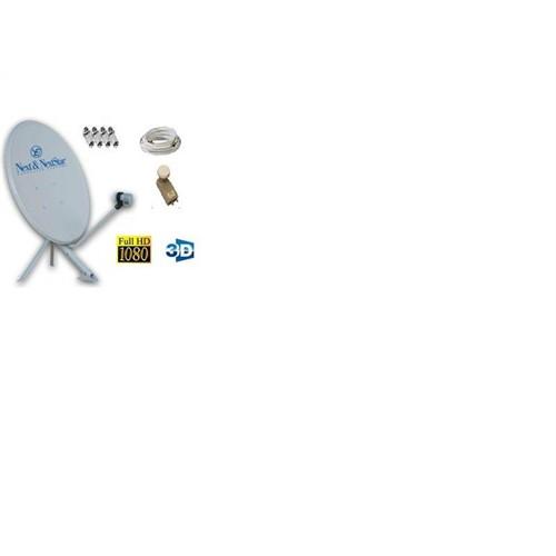 Nextstar Çanak Anten 4 Lü Lnb 25 Mt Kablo