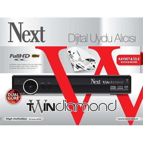 Next Twin Diamond Hd Uydu Alıcısı