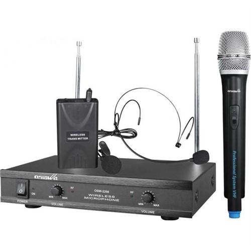 Osawa Osw-2208 Kablosuz El + Yaka Mikrofonu