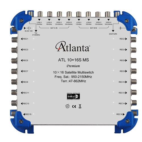 Atlanta ATL 10/16 (S) Sonlu Multiswitch