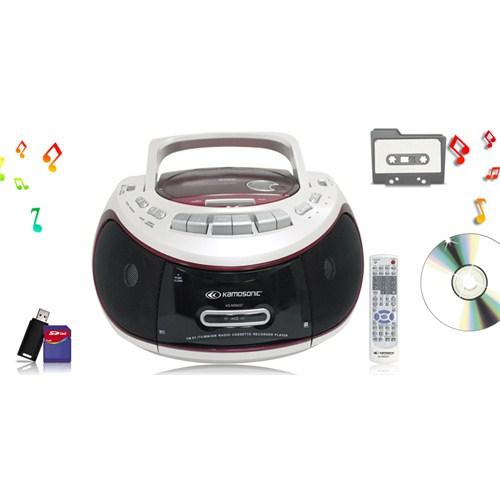 Kamosonic KS-MS9227 CD-KASET-USB-SD-MP3 ÇALAR