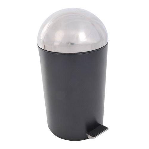Loca Jumbo Pedallı Çöp kovası 15 LT Siyah