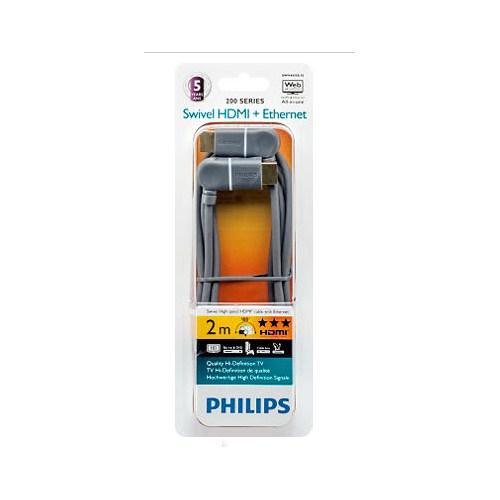 Philips SWV4435S 4K 3D Swivel 2m Gold HDMI Kablo