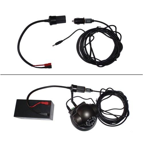 Ducki IP Kameralar için Mobil Elektrik Kiti