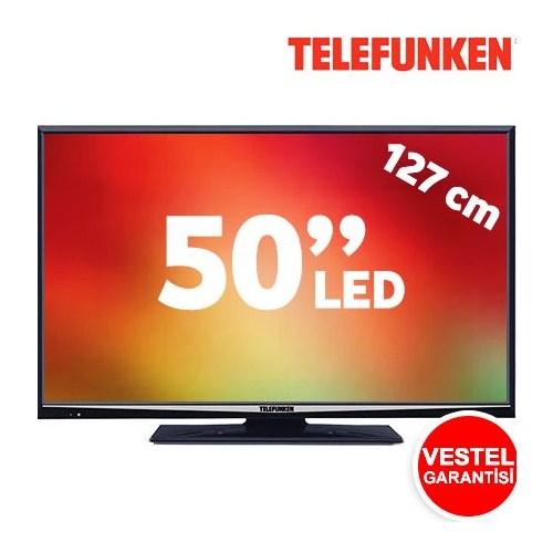 """Telefunken 50XT7000 50"""" 400Hz DLNA Uydu Alıcılı UsbMovie FULL HD SMART LED TV"""