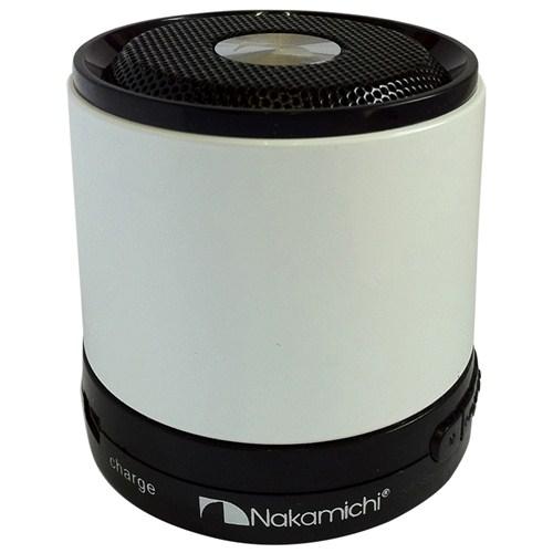 Nakamichi NBS2 (Beyaz) Mini Bluetooth Hoparlör