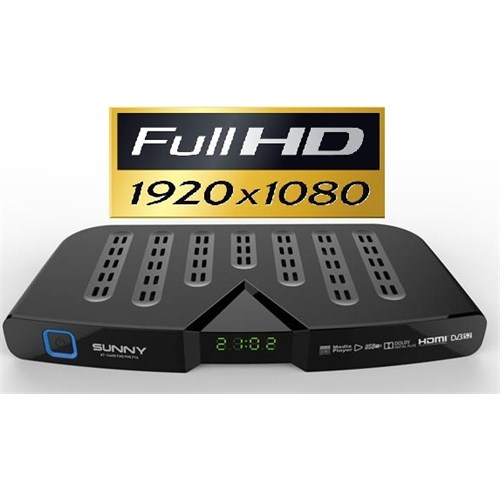 Sunny AT-14600 UsbMedia Player PVR + FULL HD Mini Uydu Alıcı