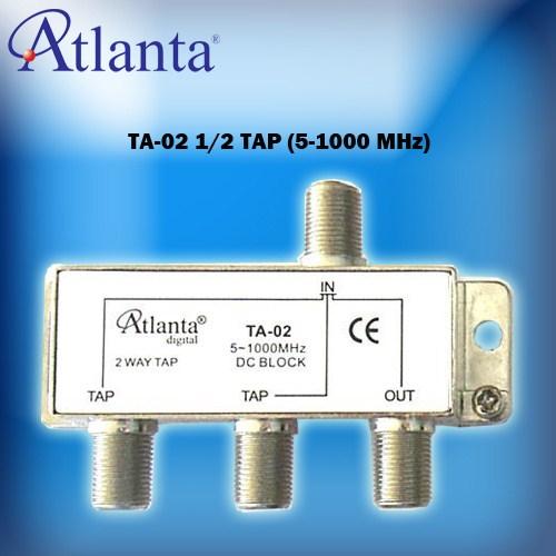 Atlanta TA02 1/2 Tap Sinyal Düşürücü (5-1000 MHz)