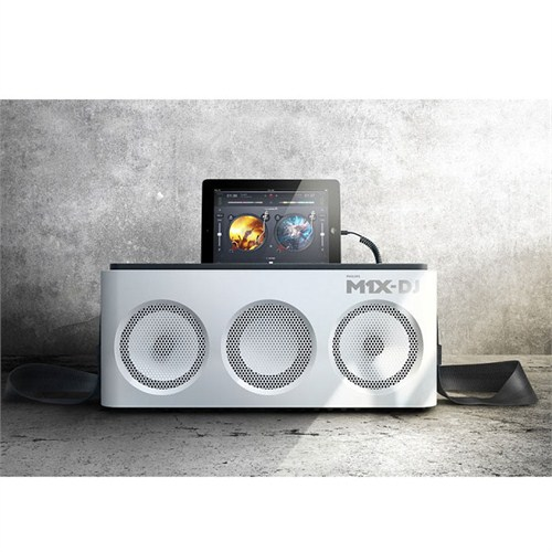 Philips DS8900 M1X-DJ iPhone 5 Uyumlu Ses Sistemi