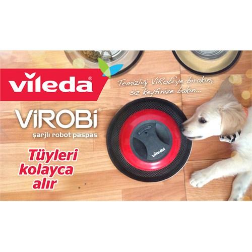 Vileda Virobi for Pet Şarjlı Robot Paspas