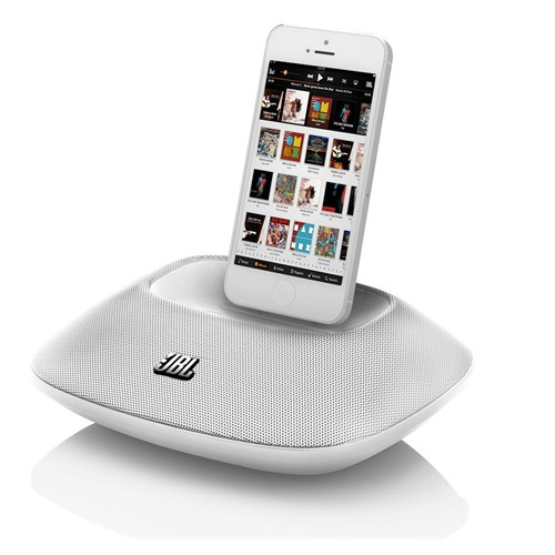 JBL OnBeat Micro iPhone & iPod Docking Hoparlör (Beyaz)