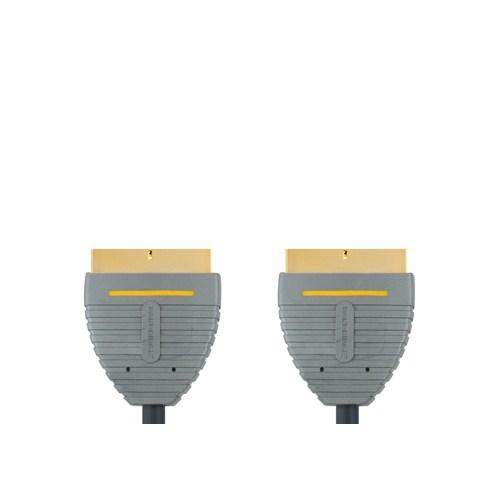 Bandridge BVL7102 Altın Uçlu Scart Kablo (2 metre)