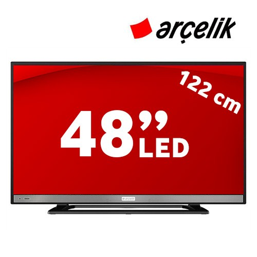 """Arçelik A48 LB 6436 48"""" 200Hz Uydu Alıcılı Full HD LED TV"""