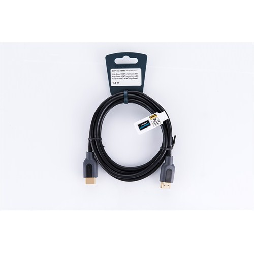 Vivanco 42960 High Speed Full Hd 4K 3D HDMI Kablo (1,5m)