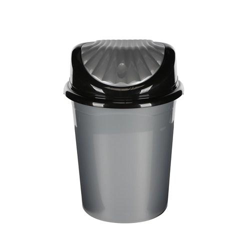 Modelüks 32 Lt İstiridye Çöp Kovası - Gri