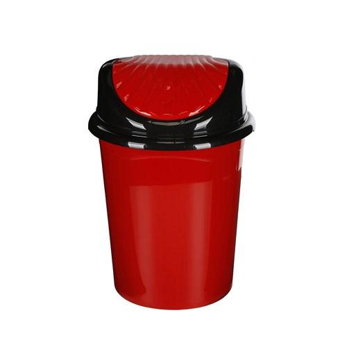 Modelüks 32 Lt İstiridye Çöp Kovası - Kırmızı