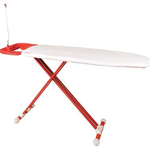 T-Design Ütü Masası Td407 Beyaz-Kırmızı